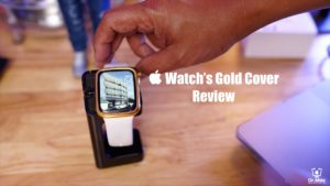Apple Watch Gold Cover